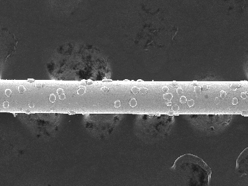 Micrometer wire of diamond 120 (silicon crystal slicing)