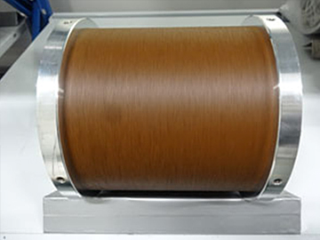 Wire saw of resin diamond 100 μm