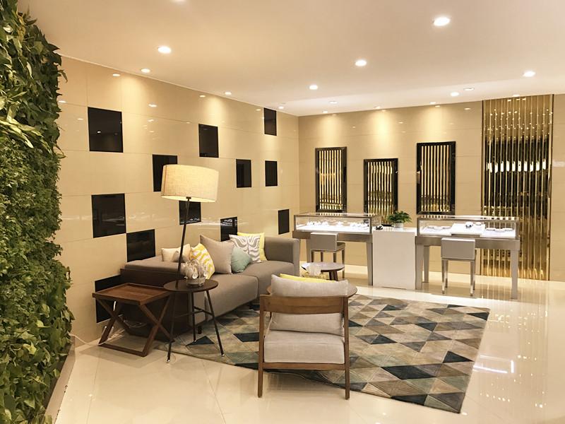 慕蒂卡珠宝体验中心优雅的店面设计,营造出充满格调的体验环境,与珠宝